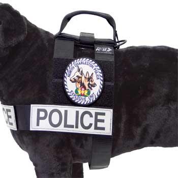 Elite K-9 I.D. Patrol Harness-Elite K-9