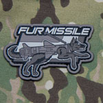 Fur Missle Patch